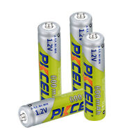 PKCELL Lot AAA 1.2V 600mAh NiMH 3A Rechargeable Batteries For Flashlight RC Toys