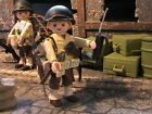 PLAYMOBIL CUSTOM US SUBOFICIAL 2NTH INFANTRY DIVISION (1942-1943) REF-0156 BIS