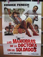 A4048 Las maniobras de la doctora con los soldados Edwige Fenech,  Renzo Montagn