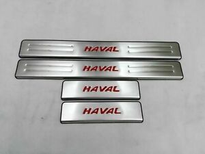 For Great Wall Haval H6 Accessories Door Sill Cover Scuff Plate Guard Protector