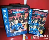 Streets of Rage 3 III Game Cartridge SEGA Mega Drive Boxed Europe Version PAL