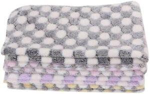 maxgoods 4 Pieces Pet Dog Blanket, Cotton Blend Material Soft Warm