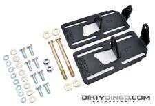 Dirty Dingo Adjustable Conversion Engine Mounts LS1 Swap 73-87 4WD GM Truck RAW
