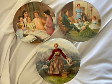 Vintage The Sound Of Music Knowles Collector Plates 1986