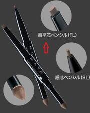 "JAPAN Kanebo Lasting Design Eyebrow W ""FL"" Powder Pencil with Soft Brush ""BR-1"""