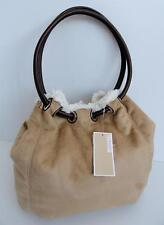 Michael Kors Faux Shearling Suede Shoulder Ring Tote Bag New with Tags RRP £249