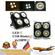 4× 100W COB LED Par illuminazione da palcoscenico DMX Stage Blinder lampada DJ