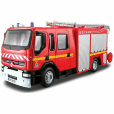 Renault Firemen Truck 16,5 cm Firefighther Model Toy Car Diecast Die Cast Metal