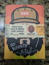 Field Notes Co-Founder Aaron Draplin Ddc French Paper Co. Postcards Signed