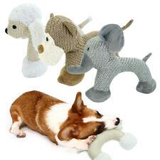 Tough Dog Chew Toy Durable Stuffed Squeaky Toys Squeaker Sheep/Monkey/Elephant