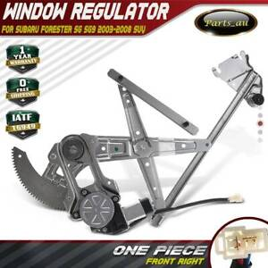 Power Window Regulator Front Right w/ Motor for Subaru Forester SG SG9 2002-2008