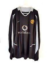 Manchester United Goal Keepers Shirt 2002. XL. Nike. Adults Man Utd Top Only Kit