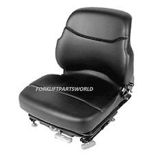 HYSTER FORKLIFT SEAT ASSEMBLY VINYL PARTS 1468472 YALE FORKLIFT