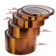 510203050mm 33m 100ft Heat Resistant High Temperature Polyimide Kapton Tape