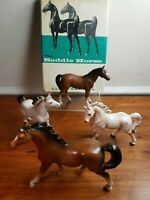 Vintage Japan Ceramic Souvenir Horse Figurine Set Of 4 - Excellent Condition