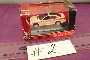 Yatming Die-cast Collection #71000 1:72 Mercedes-Benz E55 Taxi + Display Case #2