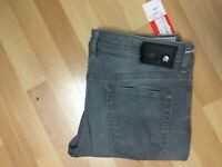 NWD Mens Diesel BUSTER Stretch Denim 0853T Grey Slim W33 L28 H7 RRP£180