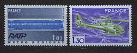 FRANCIA/FRANCE 1975 MNH SC.1436/37 French technical achievements