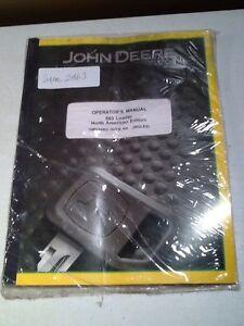 John Deere 563 Loader North American Edition Operator's Manual *OEM*