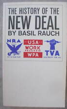 Basil Rauch THE HISTORY OF THE NEW DEAL 1933-1938 L@@K!