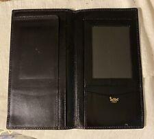 Bond Street Ludlow Black Leather Slim Coat Wallet