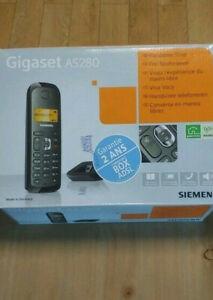 Téléphone fixe sans fil Gigaset AS280.