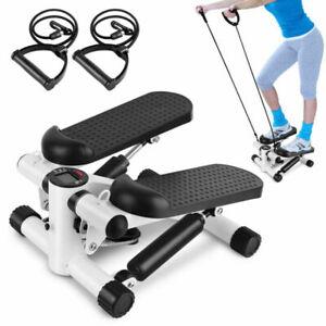 Swing Stepper Side Stepper Heimtrainer Trainingsbänder Fitnessgerät Universal #