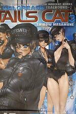 "JAPAN Masamune Shirow Art book ""W-Tails Cat 3"""