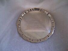 Pinehurst Nc Tin Whistles 50th Anniverary 1904-1954 Sterling Silver Golf Trophy