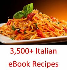 3,500+ Italian eBook Cookbooks & Recipes On One DVD Rom