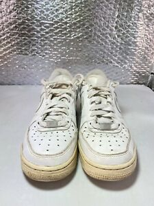 Nike Air Force 1 Ones In All White Youth Size UK 4.5 EU 37  AF 1