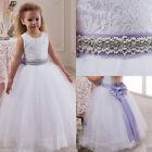Flower Girl Dress Bridesmaid Wedding Communion Party Prom Princess Pageant &