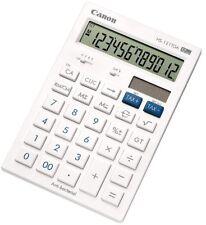 Canon HS-121TGA White 12 Digit Business Large Display Desktop Calculator W3CN