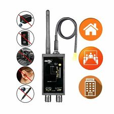 Mic Lock Camera GPS Tracker Bug Finder Detector 12Ghz Scan Front Panel LED New