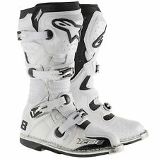 Alpinestars Tech 8 RS MX Offroad BOOTS White/vented 10 USA