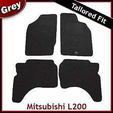 Mitsubishi L200 Mk3 1996-2007 Tailored Fitted Carpet Car Floor Mats GREY