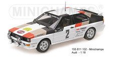 Minichamps 155811102- Audi Quattro Winner Schweden Rallye 1981 Mikkola - Hertz 1