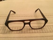 Vintage Poco Usa Brown Plastic Frame Prescription Lenses