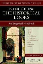 Interpreting the Historical Books: An Exegetical Handbook (Paperback or Softback
