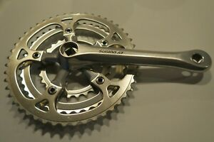 Nice Vintage Sugino AT Triple Crankset 170mm long, 110/74 BCD, GREAT CONDITION!