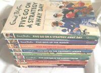 Famous Five ENID BLYTON Adult Funny books Bundle x 9