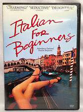 Italian for Beginners (DVD, 2000) Widescreen, Danish & Italian w/Engl. Subtitles