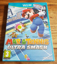 MARIO TENNIS ULTRA SMASH Jeu Sur Nintendo Wii U Neuf Sous Blister VF