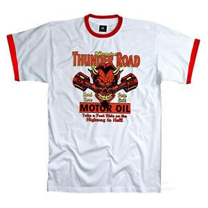 Auto T-Shirt Rockabilly Biker Officina Garage Hot Rod Tuning Racing 1238 Wh-R