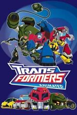 TRANSFORMERS ANIMATED POSTER ~ PROTECT AUTOBOT 24x36 Optimus Prime Bumblebee