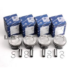 4x Pistons Rings Φ84mm / CR 10:1 For BMW 328i 428i 528i X3 F30 F10 N20B20A 2.0T