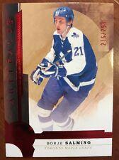2016-17 UD Artifacts Hockey #148 Borje Salming /299 Ruby Pack Fresh