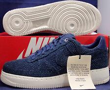 Nike Air Force 1 Low Aizome Sashiko Japan Midnight Navy SZ 10 ( AR4670-444 )