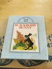 BRAMBLEDOWN TALES, BLACKBERRY BUNNY, h/c dustcover, LIKE NEW!!