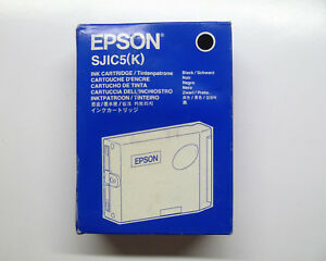 Original Epson S020271 SJIC5(K) schwarz TM-J2000 --- OVP 03/2010